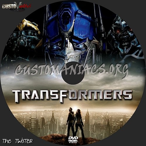 Transformers dvd label