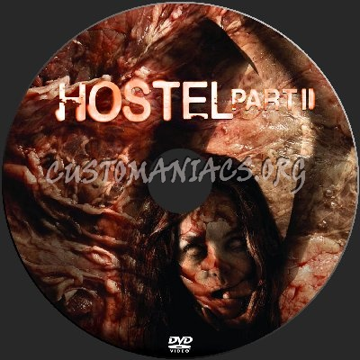 Hostel Part II dvd label