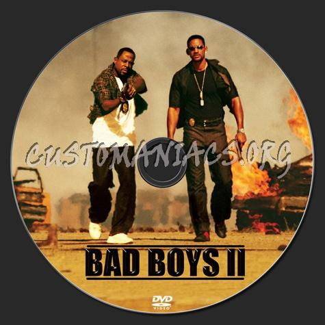 Bad Boys 2 dvd label