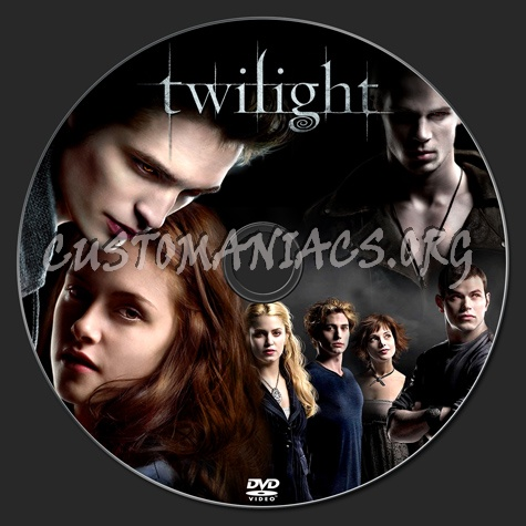 Twilight dvd label