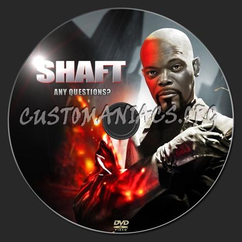Shaft dvd label