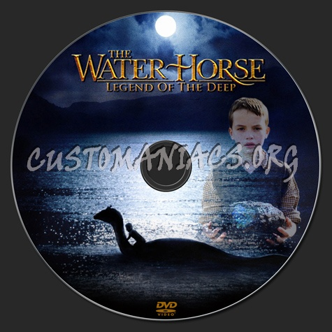 The Water Horse dvd label