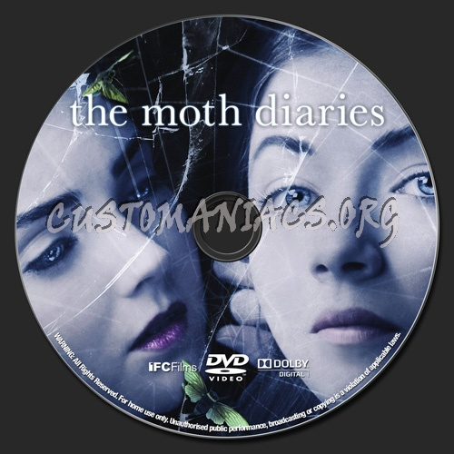 The Moth Diaries dvd label