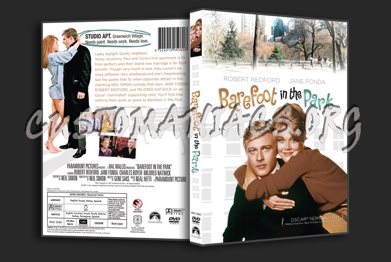 Barefoot in the Park dvd cover