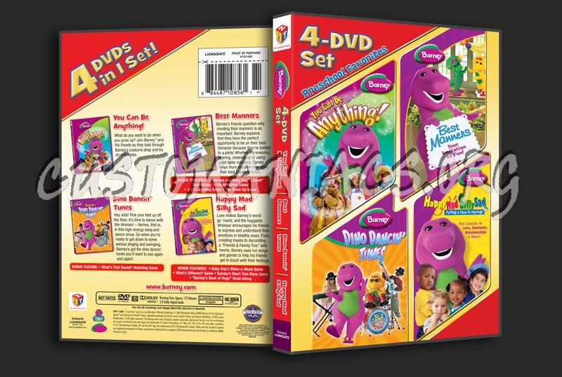 Barney 4-DVD Set dvd cover