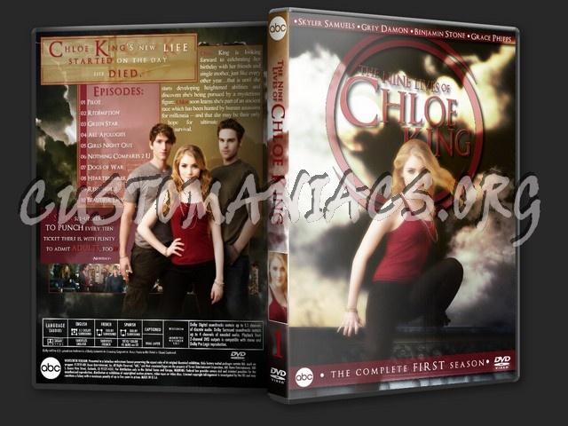 The Nine Lives of Chloe King - Season 1 dvd cover