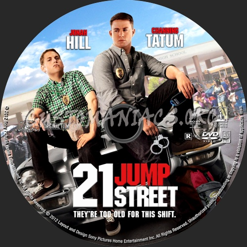 21 Jump Street 2012 Dvd Label Dvd Covers Labels By Customaniacs Id 164329 Free Download Highres Dvd Label
