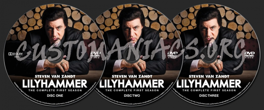 Lilyhammer Season 1 dvd label