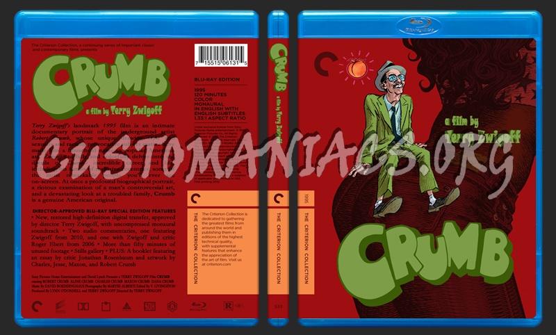 533 - Crumb blu-ray cover