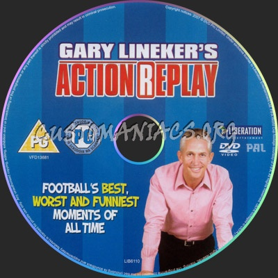 Gary Linekar's Action Replay dvd label