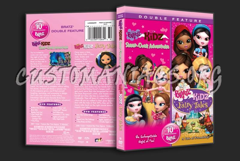 Bratz Kidz Sleep-Over Adventure / Bratz Kidz Faiy Tales dvd cover