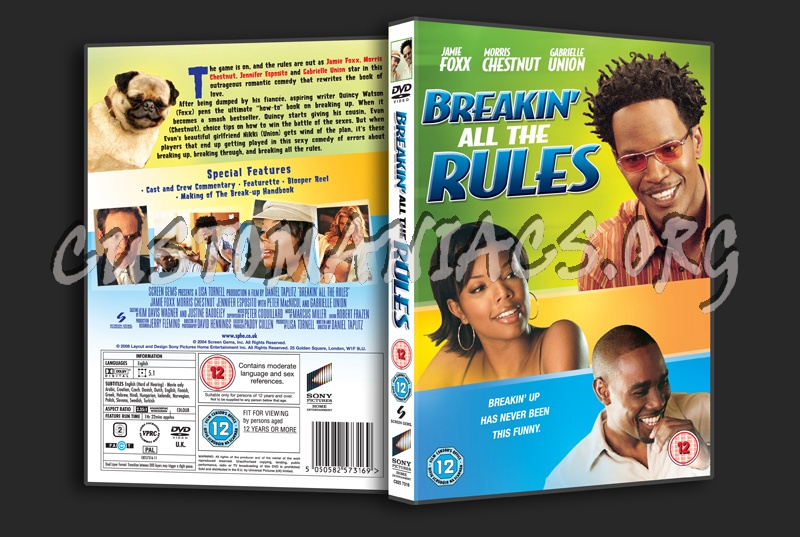 Breakin' All the Rules dvd cover