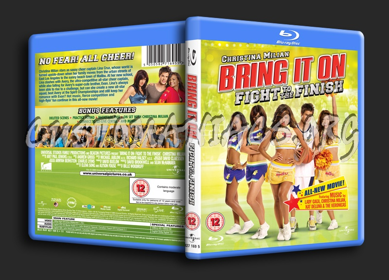 Bring It On Fight to the Finish blu-ray cover