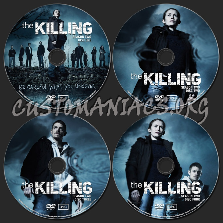 The Killing Season 2 dvd label