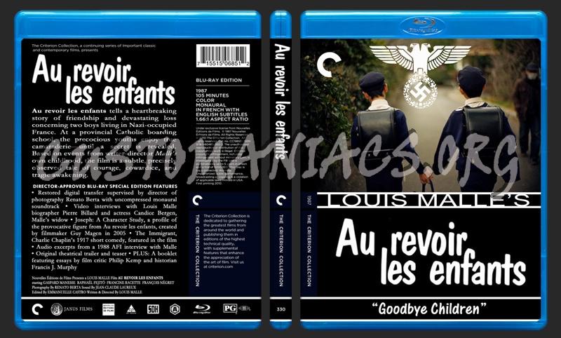 330 - Au Revoir Les Enfants blu-ray cover