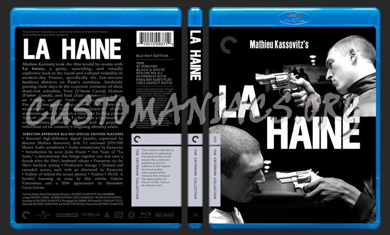 381 - La Haine blu-ray cover