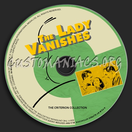 003 - The Lady Vanishes dvd label