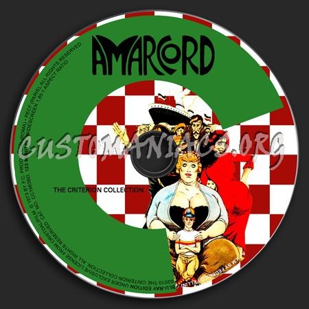 004 - Amarcord dvd label
