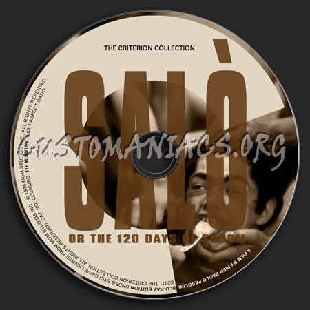 017 - Salò dvd label