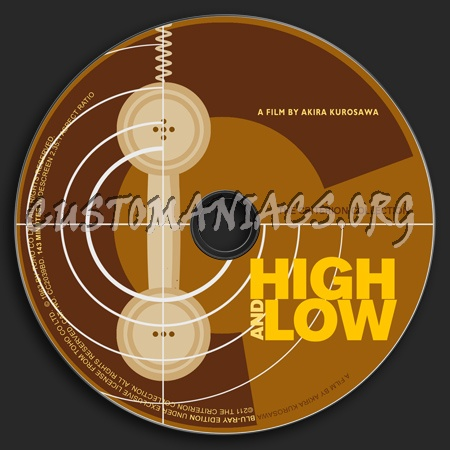 024 - High And Low dvd label