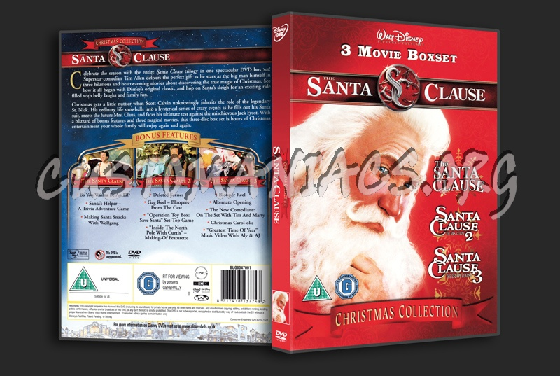 The Santa Clause Collection dvd cover