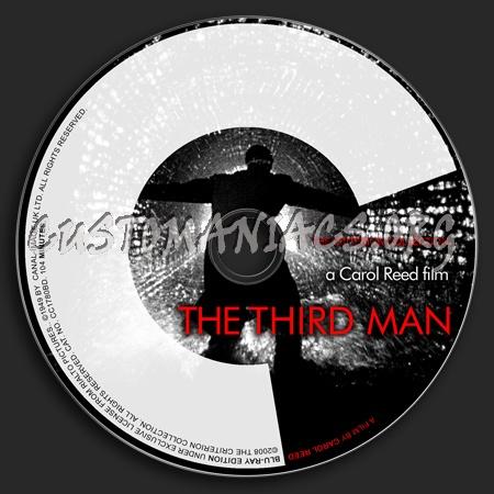 064 - The Third Man dvd label