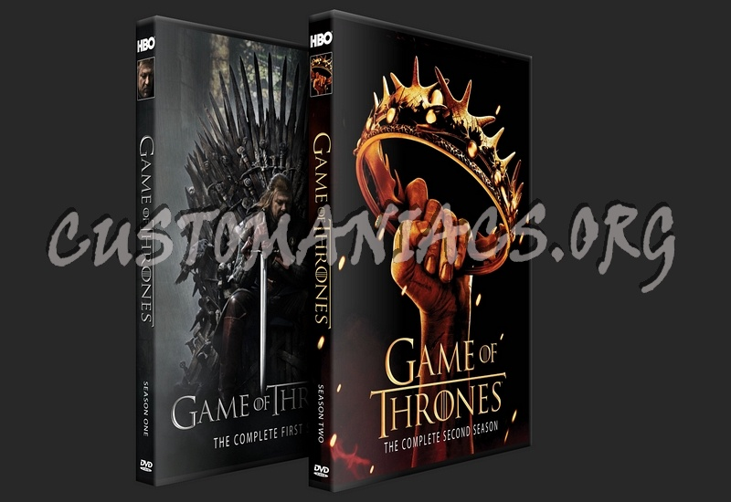Game Of Trone Season 1 Dvd Cover: DVD Covers & Labels By Customaniacs
