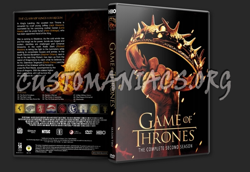 Game Of Trone Season 1 Dvd Cover: Game Of Thrones Season 1 And 2 Dvd Cover