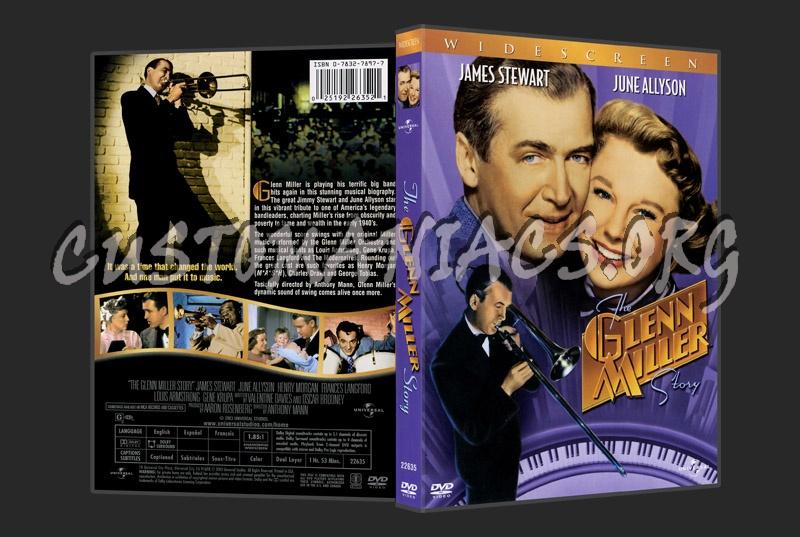 The Glenn Miller Story dvd cover