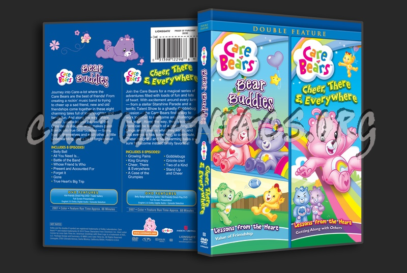 Care Bears Bear Buddies / Cheer, There & Everywhere dvd cover