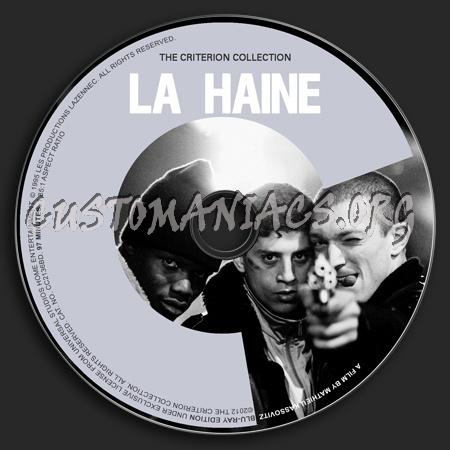 381 - La Haine dvd label