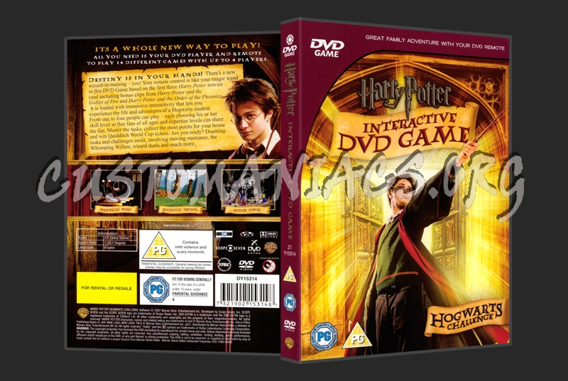 Harry Potter Interactive DVD Game dvd cover