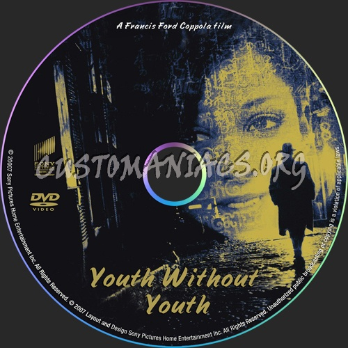 Youth Without Youth dvd label