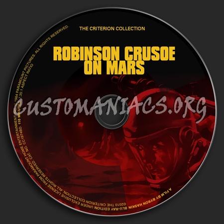 404 - Robinson Crusoe On Mars dvd label