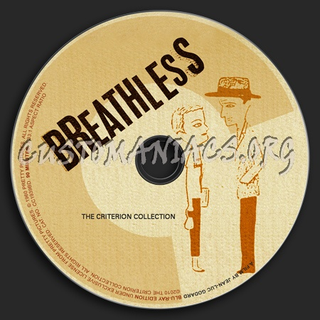 408 - Breathless dvd label