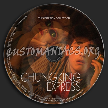 453 - Chungking Express dvd label