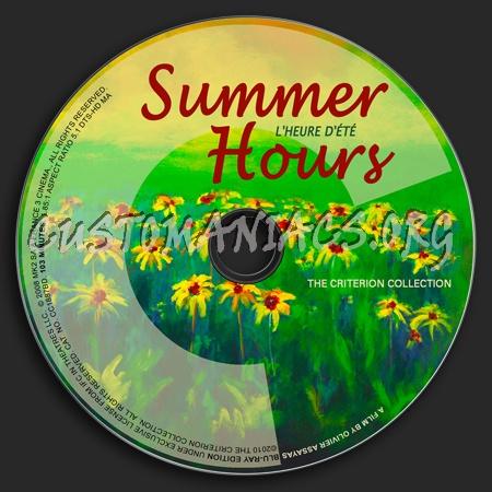 513 - Summer Hours dvd label