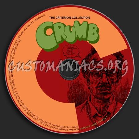 533 - Crumb dvd label