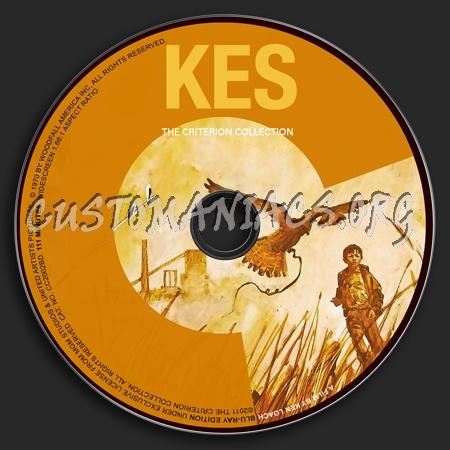 561 - Kes dvd label