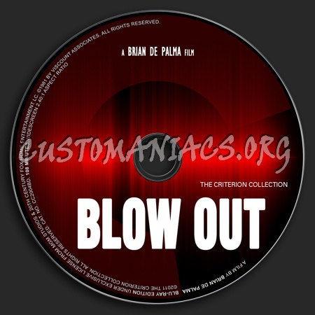 562 - Blow Out dvd label