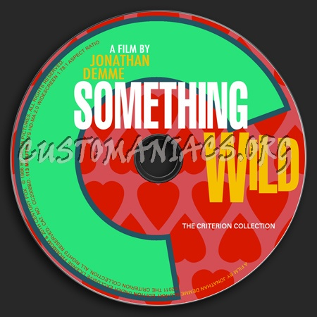 563 - Something Wild dvd label