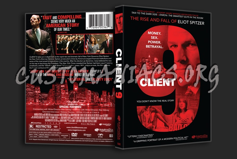 Client 9 dvd cover