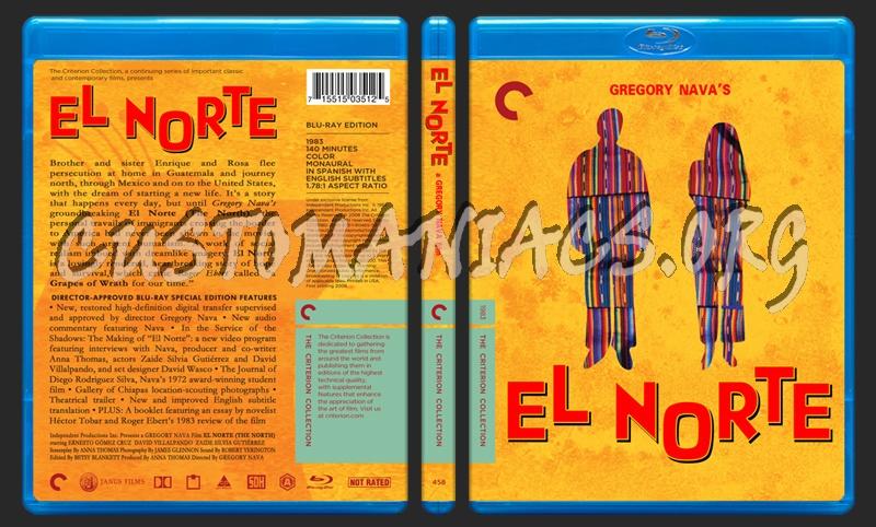458 - El Norte blu-ray cover
