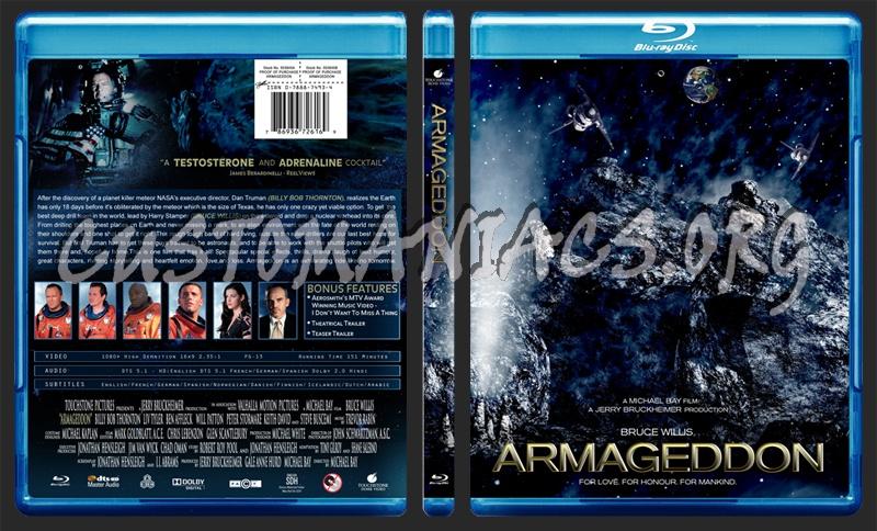 Armageddon blu-ray cover