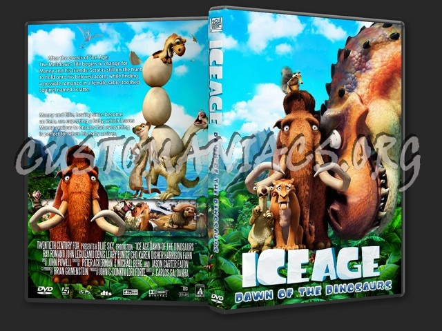 Ice Age Dawn of the Dinosaurs dvd cover