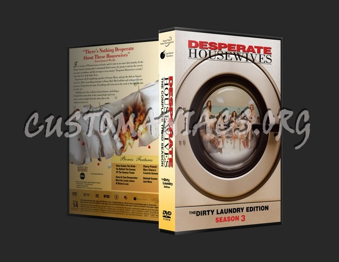 Desperate Housewives S3 dvd cover