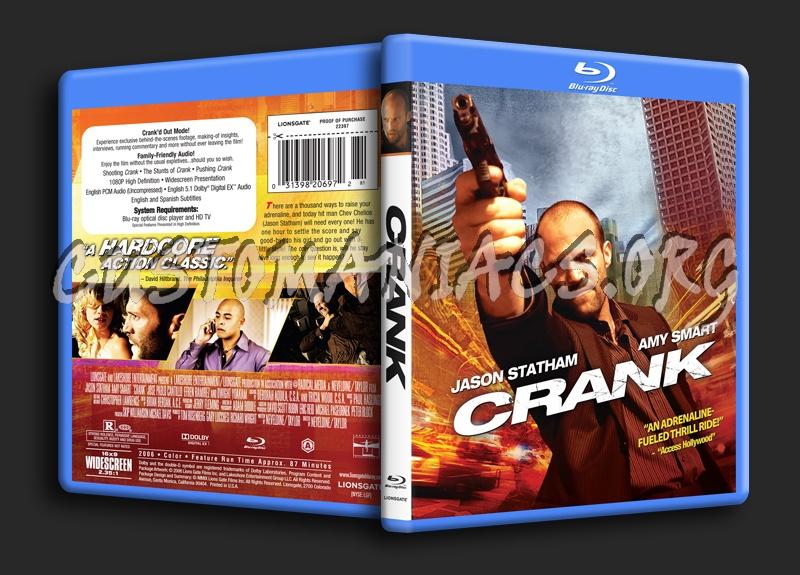 Crank blu-ray cover