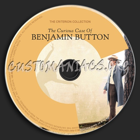476 - The Curious Case of Benjamin Button dvd label