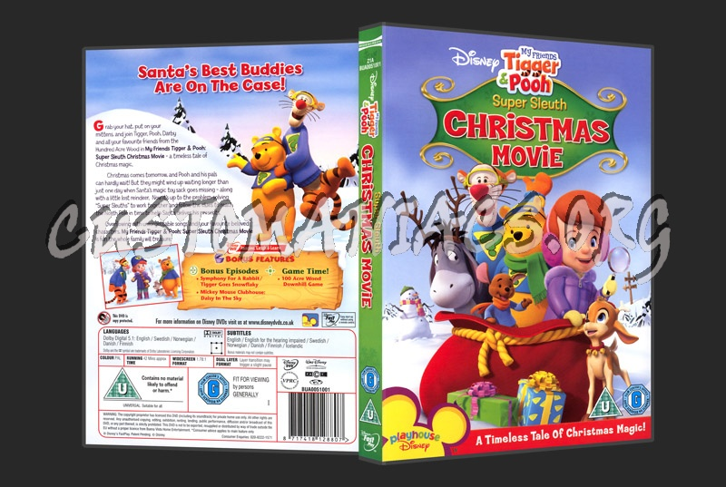 My Friends Tigger & Pooh Super Sleuth Christmas Movie dvd cover