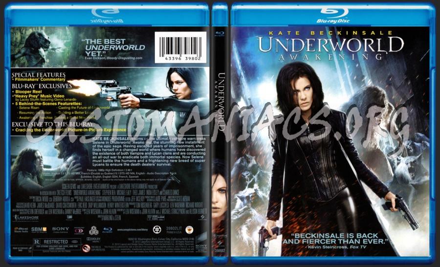 Underworld Awakening blu-ray cover